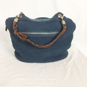 The Sak | Navy Woven Slouchy Purse